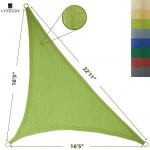 Lyshade UV Block Triangle Sun Shade Sail