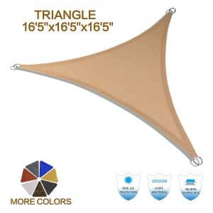 Heng Feng UV Block Outdoor Triangle Sun Shade Sail