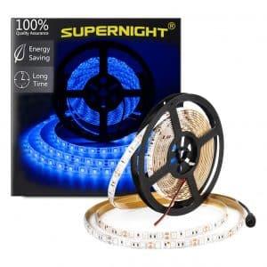 SUPERNIGHT (TM) 16.4FT 5M Blue LED Strip Light