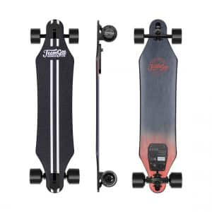 "Teamgee H5 37"" Electric Skateboard, 22 MPH Top Speed"
