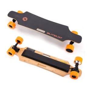 """Blitzart 38"""" Electric Longboard Skateboard 18mph"""
