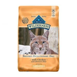 Blue Buffalo Wilderness Weight Control Adult Cat Dry Food