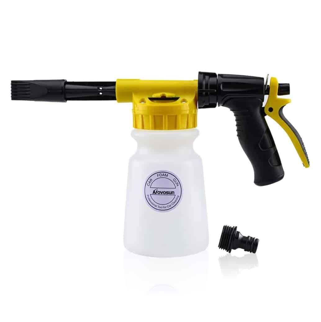 Novosun Foam Gun (with a Wash Mitt and Towel)