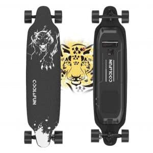 Electric Skateboard with Remote, 400W Brushless Motor Electric Longboard