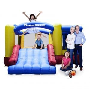 PicassoTiles Inflatable Bouncer House
