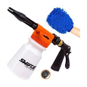SwiftJet Car Wash Foam Gun - Adjustable Water Pressure