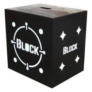 Block Black Crossbow Archery Target