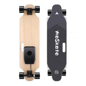 "WeSkate 35"" Electric Skateboard Longboard with Remote Controller"