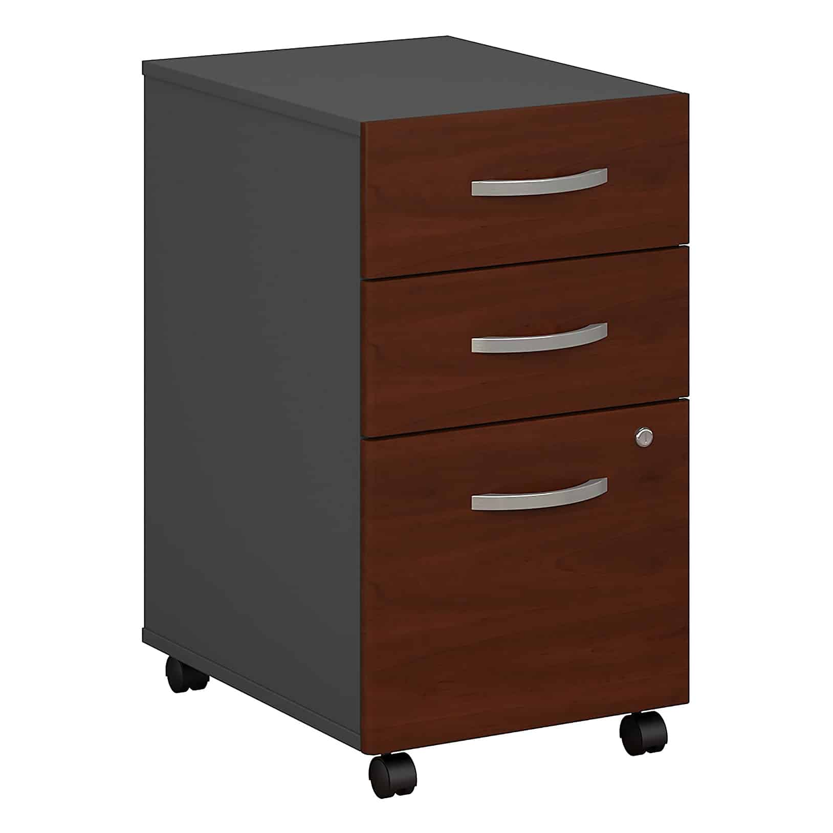 Bush Business Furniture Series C 3 Drawer Mobile File Cabinet