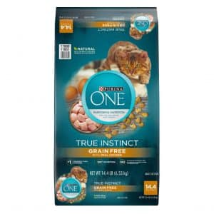 Purina ONE True Instinct High Protein Grain Free Cat Food