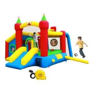 WELLFUNTIME Inflatable Bounce House
