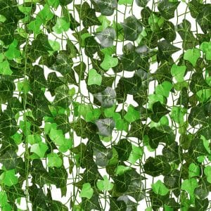 DearHouse 12 Strands Artificial Ivy Leaf Plants Vine Fence