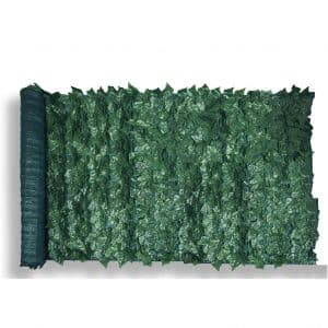 "Patio Paradise 39"" x 97"" Faux Ivy Privacy Fence Screen"