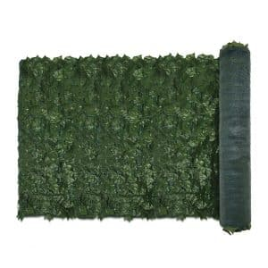 E and K Sunrise Faux Ivy Privacy Fence Screen