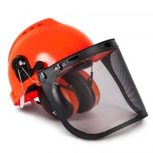 TR Industrial TR88011 Hard Hat Ear Muffs and Forestry Safety Helmet