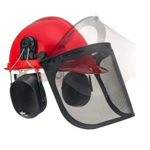 NoCry 6-in-1 Industrial Hearing Protection System and Forestry Safety Helmet