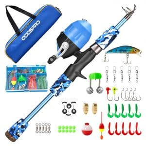 ODDSPRO Kids Fishing Pole Set