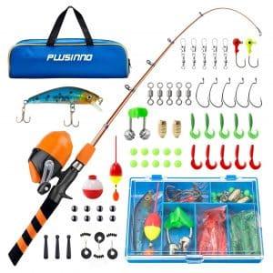 PLUSINNO Portable Kids Fishing Pole