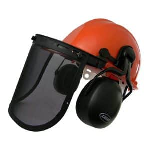 Laser Chainsaw Boxed Safety Helmet