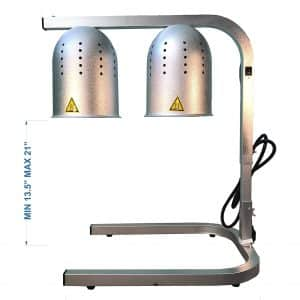 Avantco Portable Commercial W62 Free-Standing Lamp Food Warmer