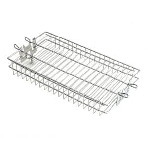 Fire Magic 3618 Flat Stainless Rotisserie Basket
