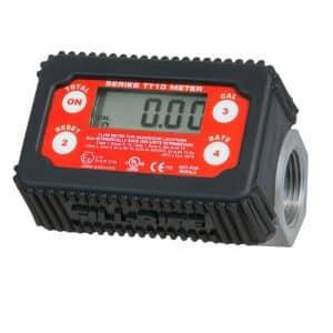 Fill-Rite Digital Turbine Meter, Black/Red