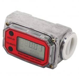 Jimdary Fuel Digital Flow Meter (Red LLW-25)