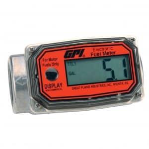 GPI 113255-1 Aluminum Turbine Flow Meter