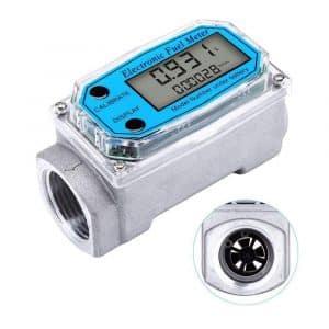 TEANTECH Digital Flow Meter w/Digital LCD Display