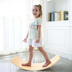 KIOSESI Wooden Balance Board for Toddler