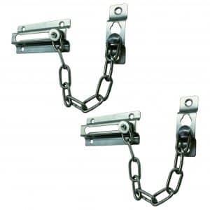 Door Chain Lock, 2-Pack