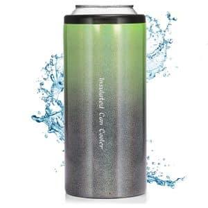 Tianlai Stainless Steel Slim Can Cooler (Gradient Green)