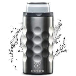 Hooch|Hog Stainless Steel Slim Can Cooler